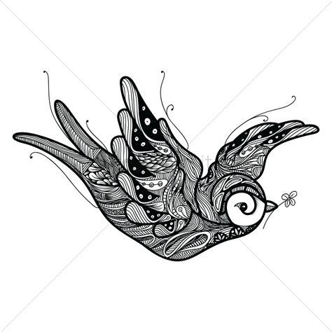 Stylized Bird Design Vector Image 1548675 Stockunlimited Bird Designs For