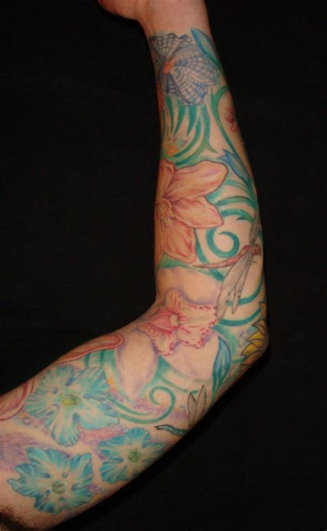 sleve tattoo sleeves colorful modern tattoos majestic nyc