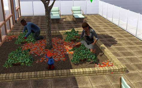 Sims 3 Garden Ideas Summer S Sims 3 Garden How To Build A Rooftop Or Balcony Garden In The Sims 3