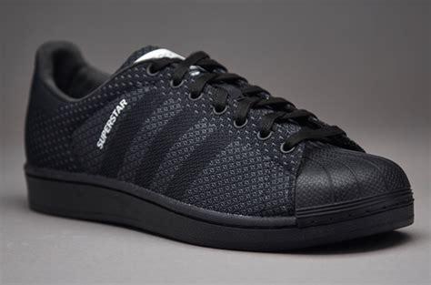 sepatu sneaker adidas superstar weave black white