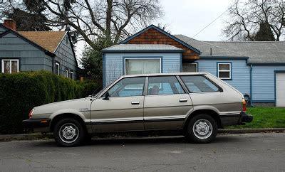 subaru wagon 1980 parked cars 1980 subaru gl 5 wagon