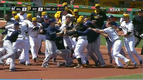 bench clearing brawl video bench clearing brawl the 405 media