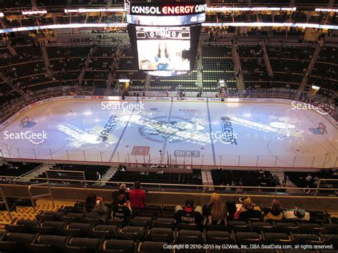 view section ppg paints arena seat views seatgeek