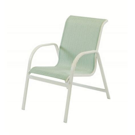 Sling Chair Material by Sling Dining Chair With Sling Fabric And Aluminum Frame