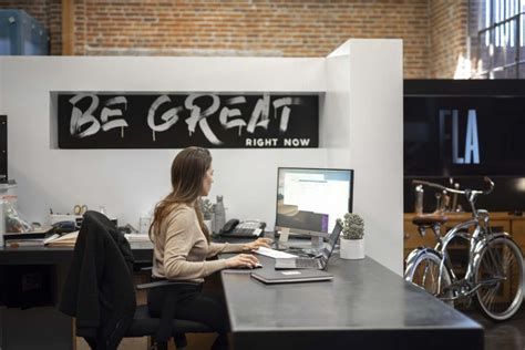 Front Desk Hq by A Hq Designed To Impact Creativity And The