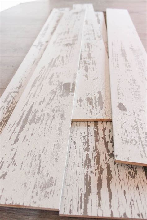 How to Install a Wood Plank Wall   Decorating   Pinterest