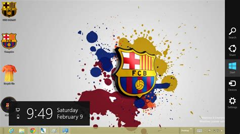 download themes windows 7 barcelona barcelona fc 2013 theme for windows 7 and 8 ouo themes
