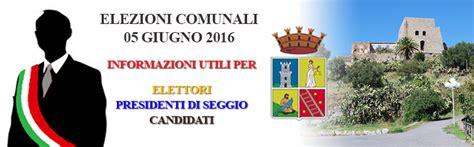 comune di scalea ufficio tributi elezioni comunali 2016 informazioni utili comune