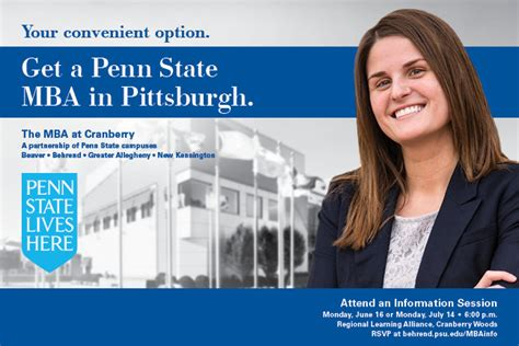 Pitt Mba Healthcare by Summer Admissions Events Scheduled For Penn State S