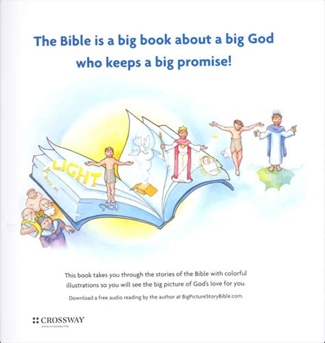 The Big Picture Interactive Bible Stories In 5 Minutes Ebooke Book big picture story bible hardcover 059579 details rainbow resource center inc