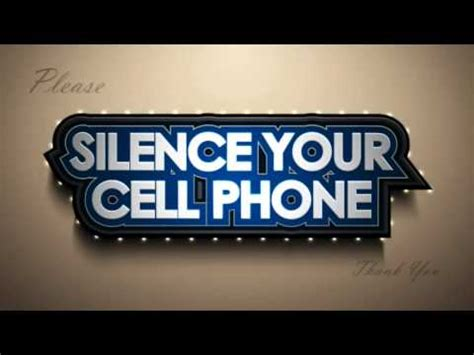 Erokawize Your Cell Phone by Silence Your Cell Phone Before Coming Into The