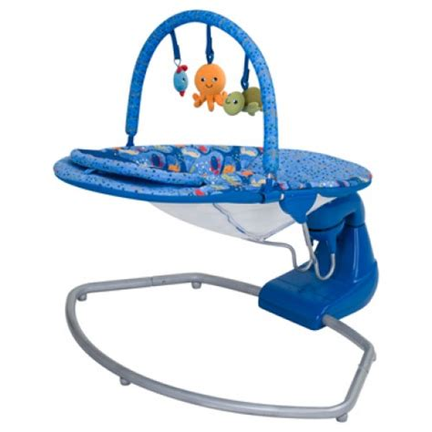 Baby Trend Swing Bouncer Coral Reef