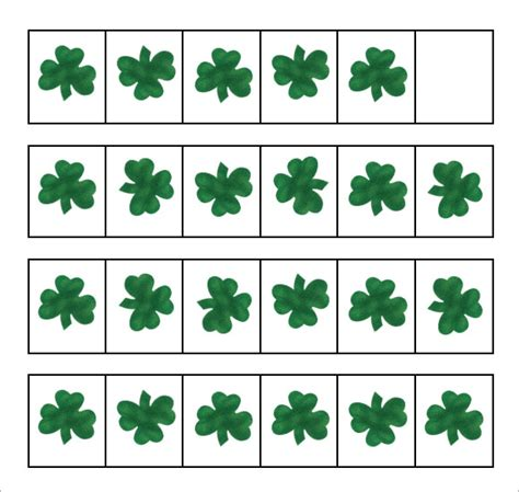 Sample Shamrock  8  Documents in PDF, Word
