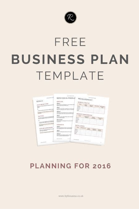 25 best ideas about business plan template on pinterest