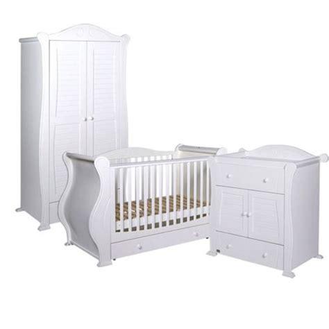 buy tutti bambini 3 nursery room set white