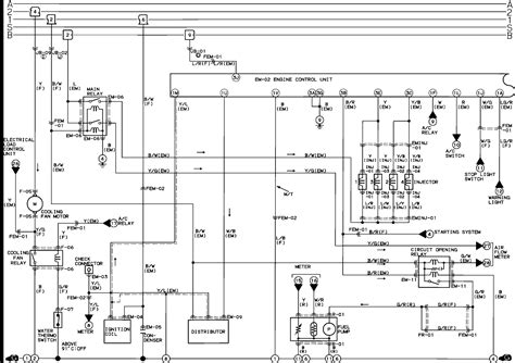 1993 mazda 323 wiring diagrams wiring diagrams