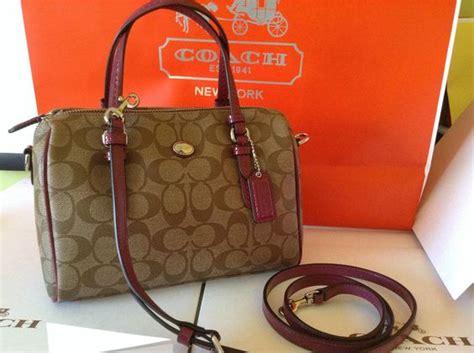 Coach Mini Bennet Signature Mahogani peyton signature mini satchel coach f49862 fashions that i like minis