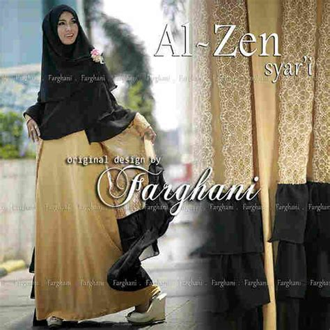 al zen by farghani coksu baju muslim gamis modern