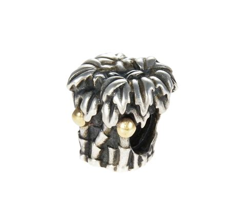 pandora silver and 14ct gold palm trees charm 790521 order