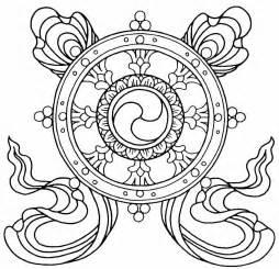 Buddhist Mandala Outline by Mandalas And Symbols To Colour 187 The Buddha Center