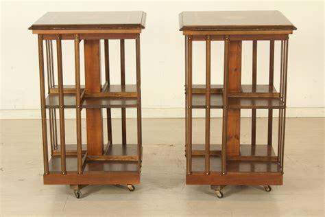 librerie girevoli coppia librerie girevoli mobili in stile bottega