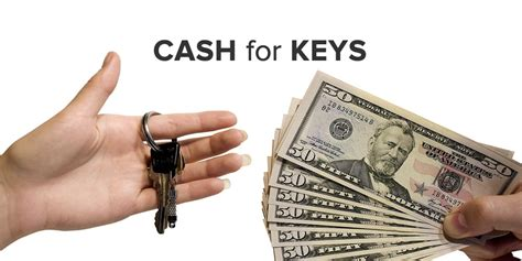 when is the deposit due when buying a house quot cash for keys quot will motivate bad tenants to move out quickly