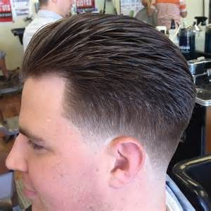 haircuts at the barbershop american mens blended hair styles short hairstyle 2013