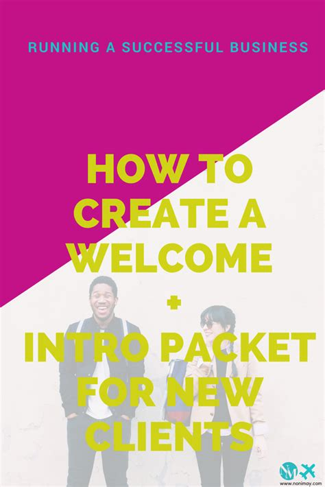 welcome packet template welcome packet new clients including free welcome packet