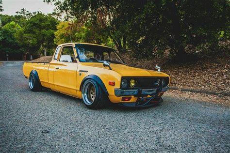 Ca Slammed 1978 Datsun 620 King Cab 5 Speed Stanceworks