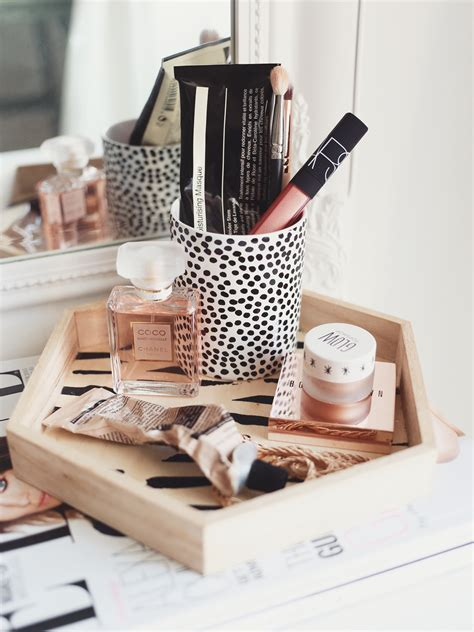 makeup storage tips tricks kate la vie bloglovin