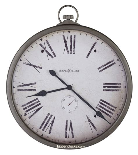 wall watch howard miller wall clock 625 572 gallery pocket watch