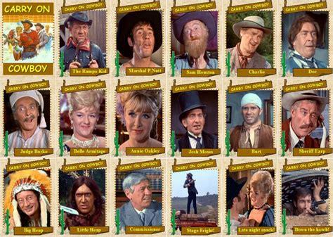 film carry on cowboy cast nikolaitradingcards carry on films