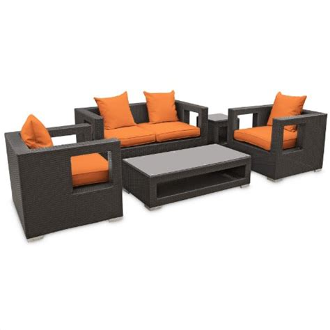 outdoor sofa sets clearance patio sets clearance lexmod lunar outdoor wicker patio 5