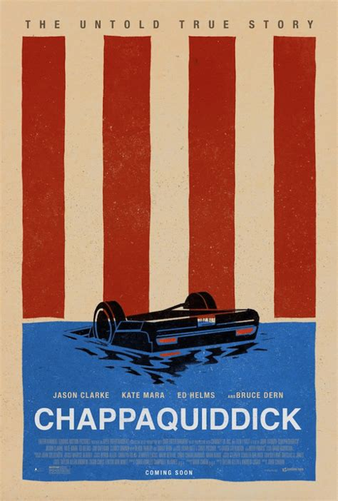 Chappaquiddick Event Poster And Trailer For Chappaquiddick Starring Jason Clarke And Kate Mara