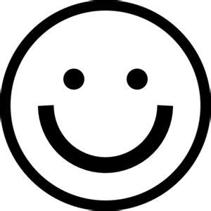 black and white smiley face clip art smiley face clip art at clker com vector clip art online