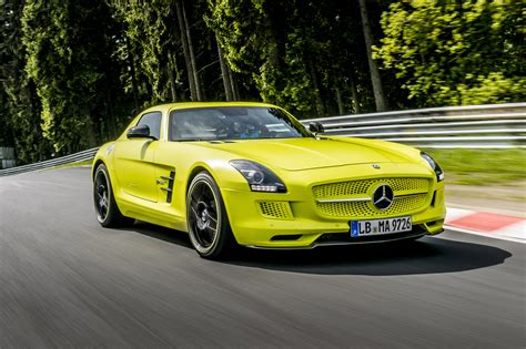 car mercedes 2014 mercedes benz sls amg coupe electric drive production car