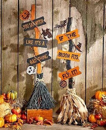 decorar escobas para halloween imagenes y dise 241 os de escobas decoradas para halloween