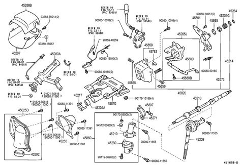 electric power steering 2001 toyota tundra interior lighting 2000 2002 toyota tundra lower steering column trim moonmist new oem 452870c013b1 factory oem parts
