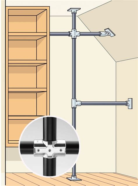 Commercial Closet Rods by Read This Before You Redo Your Bedroom Closet Speed Rail Closet Rod And Commercial
