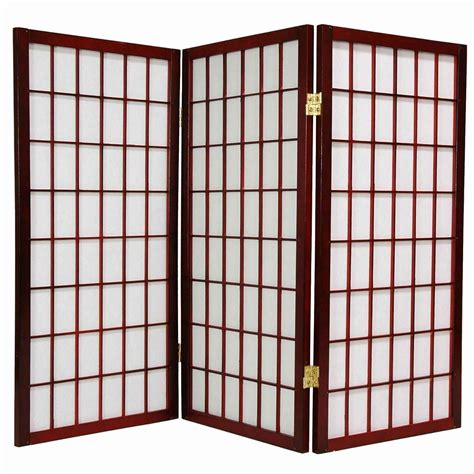Japanese Room Divider Bamboo Room Dividers Panel Feel The Home