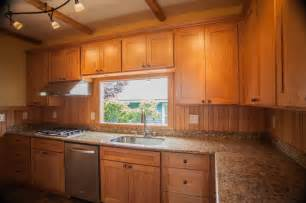 1l maple shaker kitchen cabinets contemporary