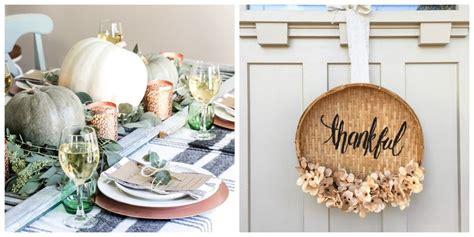easy diy thanksgiving decorations  ideas