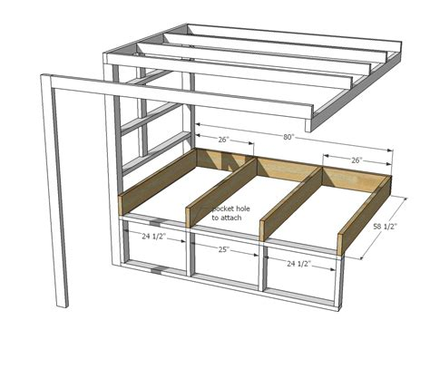 Build Loft Bed Frame A Loft Bed That Is So Much More Than Just Bed Plan Engineering Feed