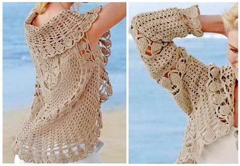 chaleco redondo crochet patron a chaleco redondo a crochet para mujer ganchilloganchillo