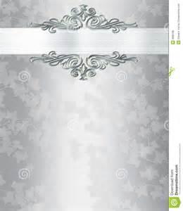 wedding invitation background silver wedding invitation templates wedding invitation