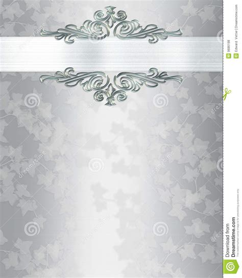 silver wedding invitations templates silver wedding invitation templates wedding invitation