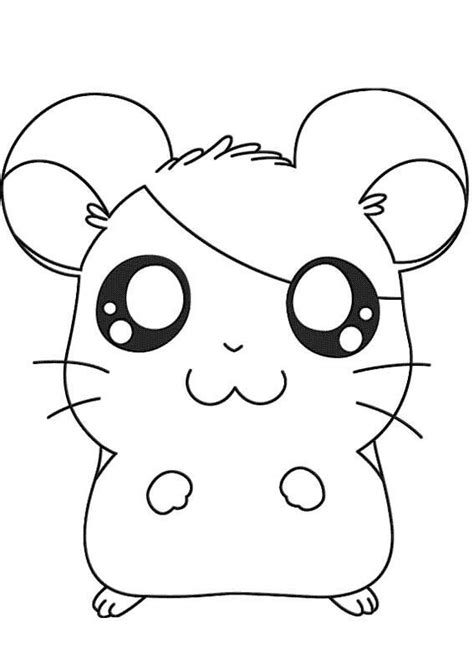 baby hamster coloring pages disegni di hamtaro