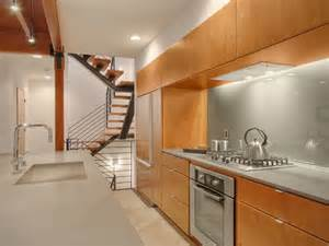 kitchen modern small spaces