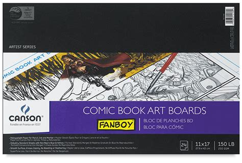 How To Make A Comic Book Out Of Paper - 12441 1030 canson fanboy comic and papers blick
