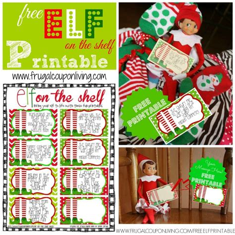 printable elf on the shelf elf on the shelf ideas elf printables elf costumes elf